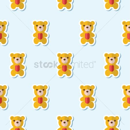 Teddybear : Teddy bear pattern