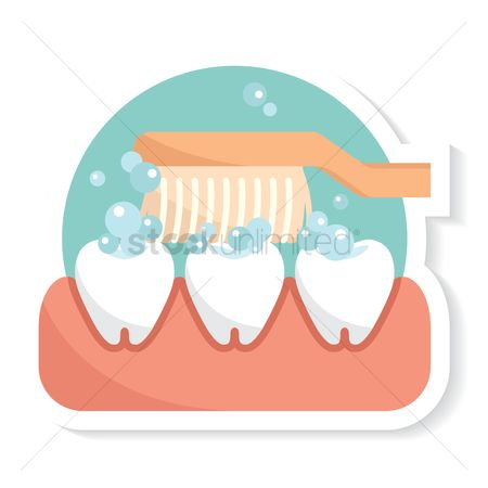 Brushes : Teeth cleaning