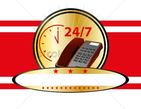 Help : Telephone and 24 7 service time