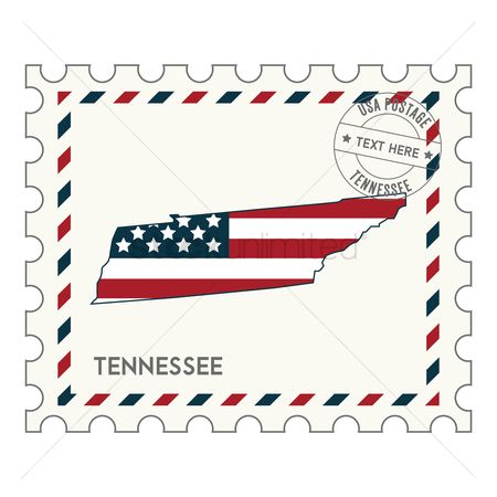 Tennessee : Tennessee postage stamp