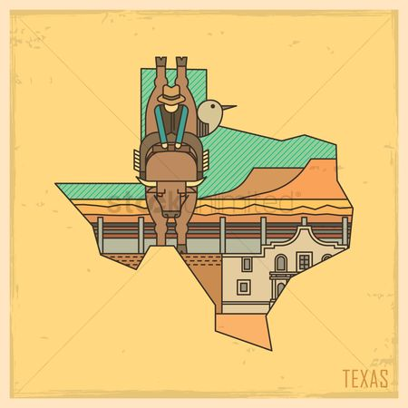 Us : Texas state map