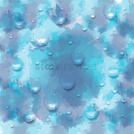 Water drops : Textured background with water drops