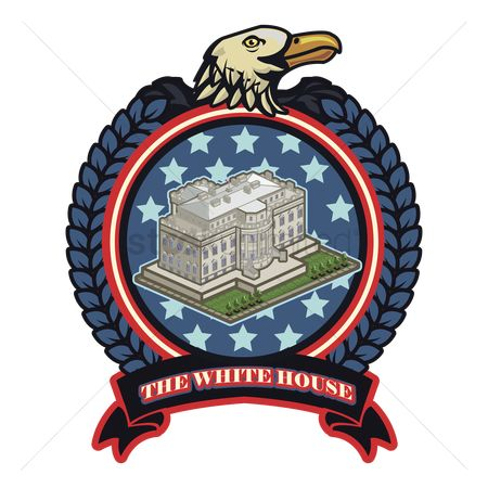 White house : The white house label