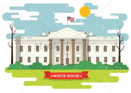 Monuments : The white house