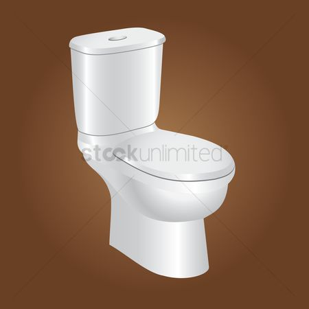 Households : Toilet bowl