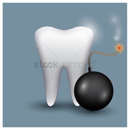 Dentist : Tooth with boom