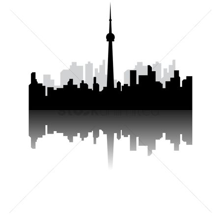 Towers : Toronto cn tower