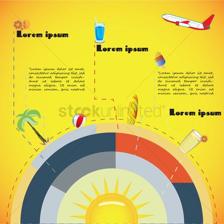 Surfboards : Tourism infographic