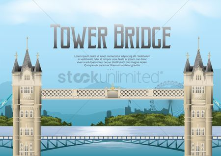 Monuments : Tower bridge wallpaper