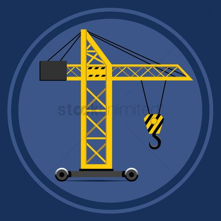 Machineries : Tower crane