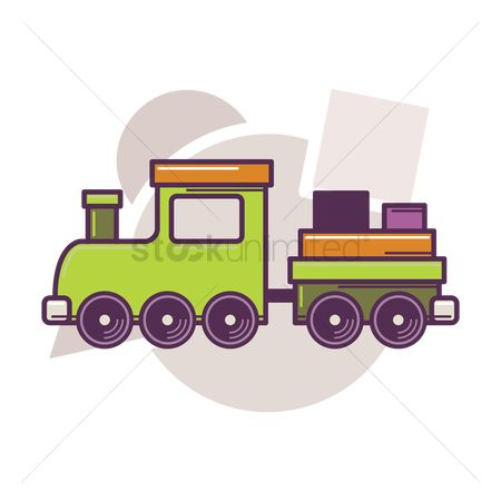 Play kids : Toy train