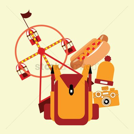 Hotdogs : Travel items and landmark