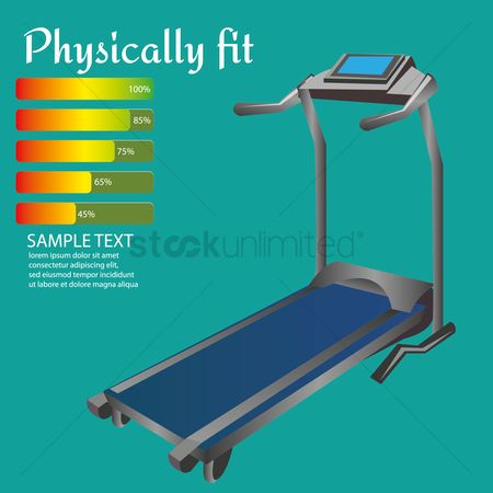 Indoor : Treadmill machine