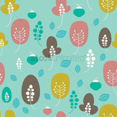 Huge : Tree background design