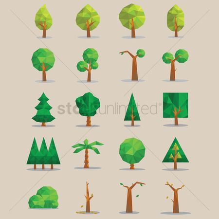 Faceted : Tree icons