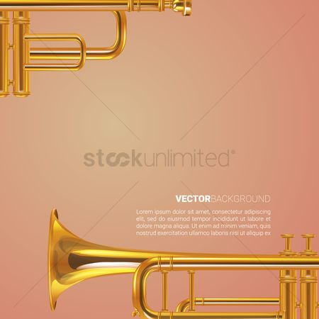 Trumpets : Trumpet background