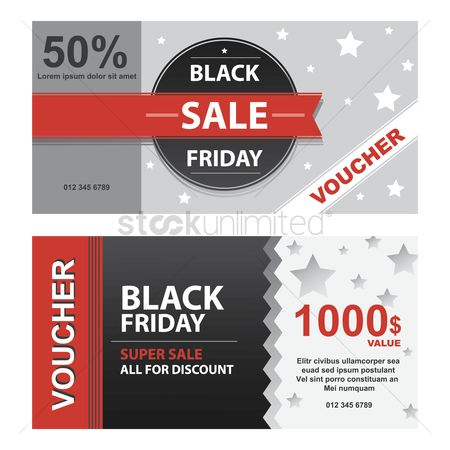 Store : Two black friday vouchers