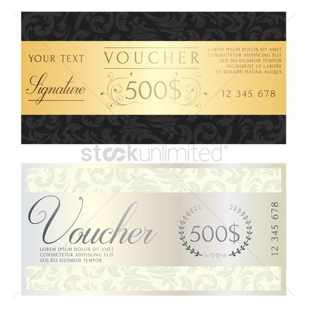 Silver : Two classic vouchers