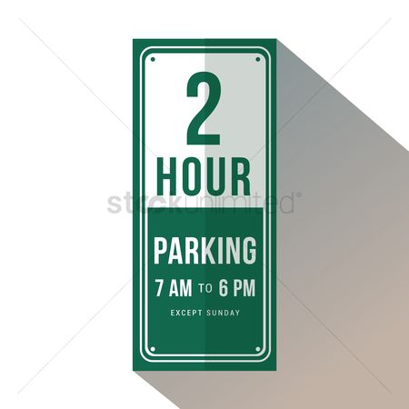Attention : Two hour parking