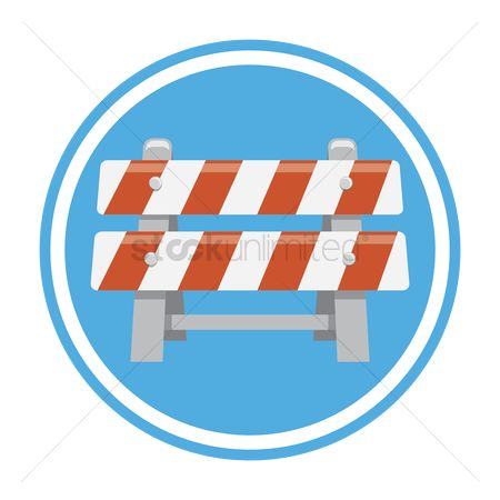 Barrier : Under construction barrier