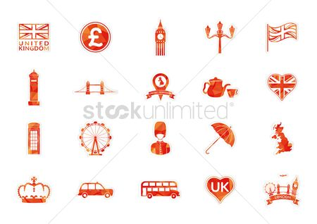 Royal : United kingdom icons