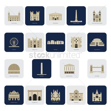 Monuments : United kingdom landmarks