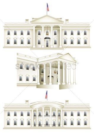 White house : Us capitol buildings