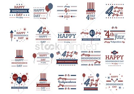 Patriotic : Us independence day designs