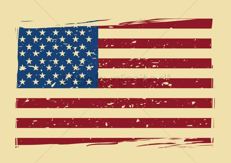 Patriotic : Usa flag poster