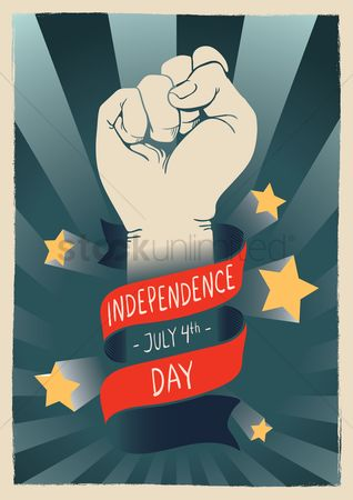Patriotics : Usa independence day poster