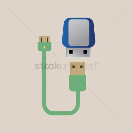 Connector : Usb cable and power plug
