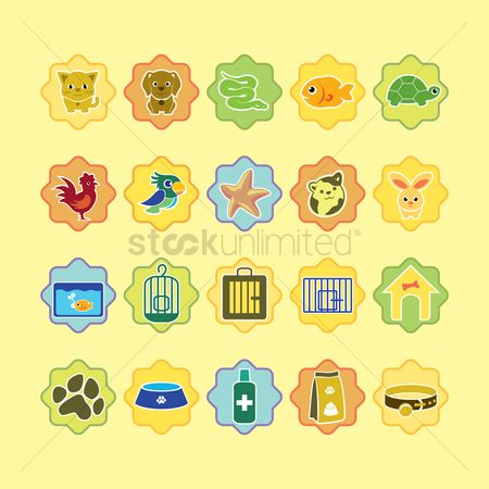 Tanks : Various pets and pet related icons