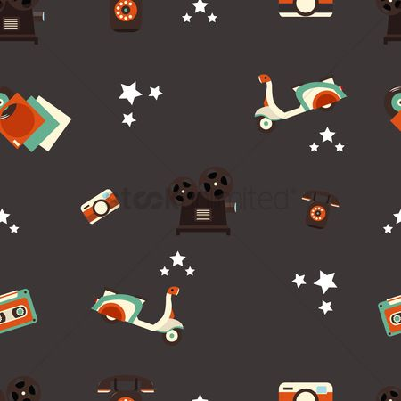 Reels : Vintage background