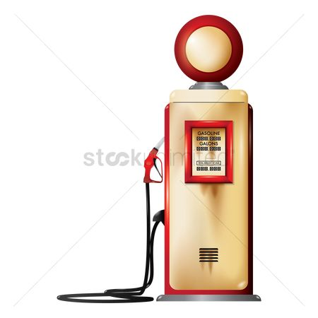 Tanks : Vintage gas pump