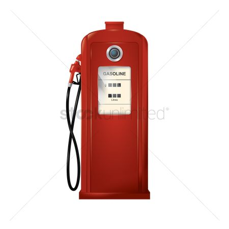 Petroleum : Vintage gas pump