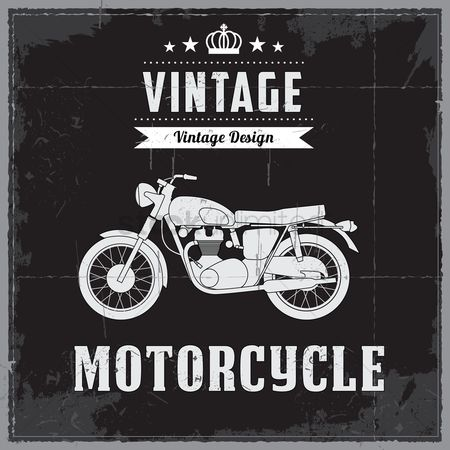 Bike : Vintage motorcycle