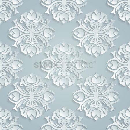 Vintage : Vintage pattern background
