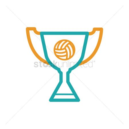 Volleyballs : Volleyball trophy