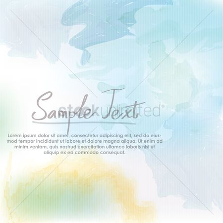 Wallpaper : Watercolor background design
