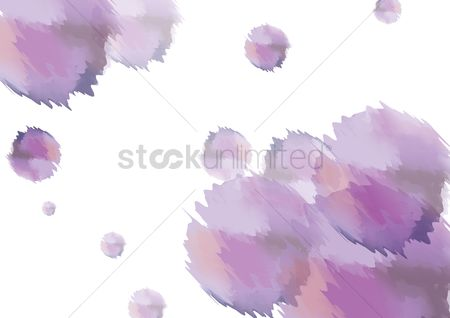 Patterns : Watercolor background