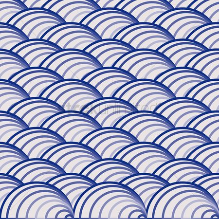 Geometric background : Wave patterned background