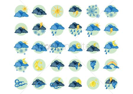 Moon : Weather icon set