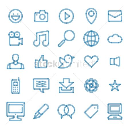 Love speech bubble : Website icon collection
