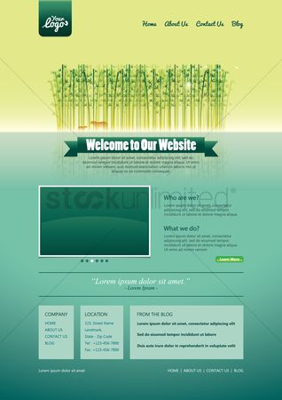 Us : Website template design