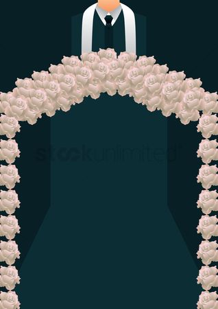 Priest : Wedding arch