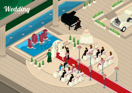 Priest : Wedding ceremony design