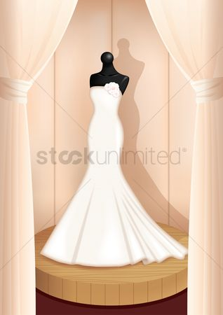 Weddings : Wedding gown