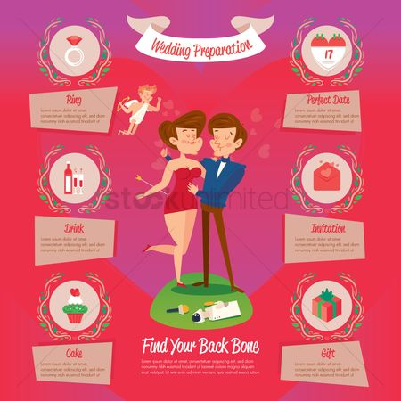 Weddings : Wedding infographic