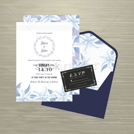 Weddings : Wedding invitational card design