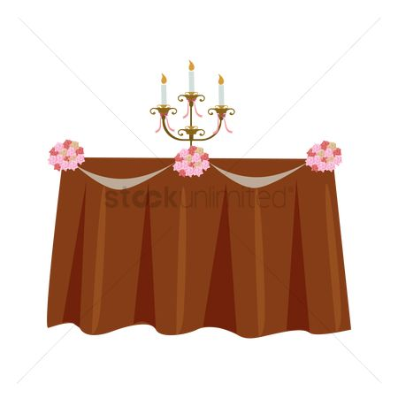 Dine : Wedding table decoration